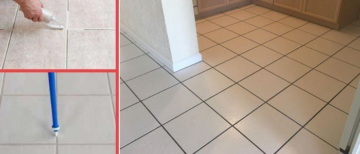 Grout Recoloring and Sealing Cleeland
