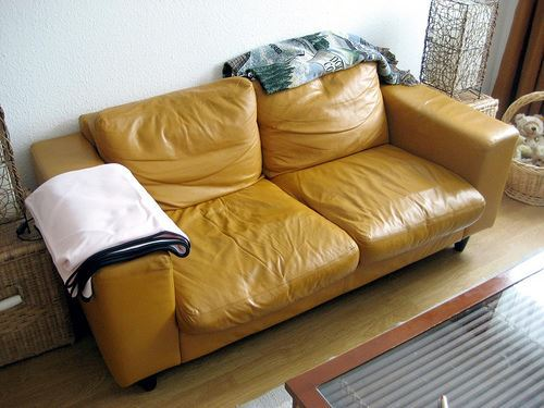 DIY Leather Upholstery