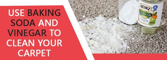 Use Baking Soda and Vinegar to Clean Your Carpet Sydney