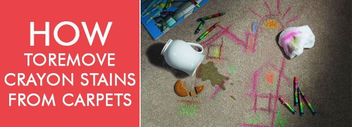 Remove Crayon Stains From Carpets in Sydney