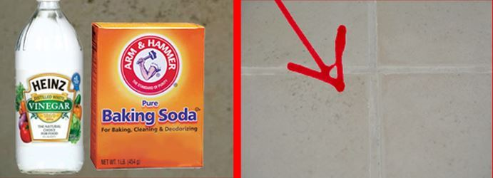 How To Clean Tile With Bakingsoda and Vinegar