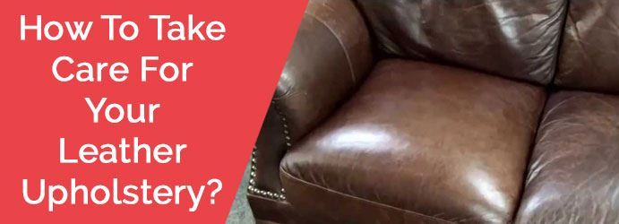 Leather Upholstery Cleaning Service
