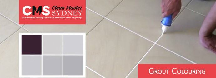Grout Colouring Yanderra
