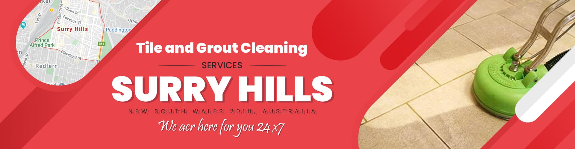 Tile Grout Cleaning Services Surry Hills