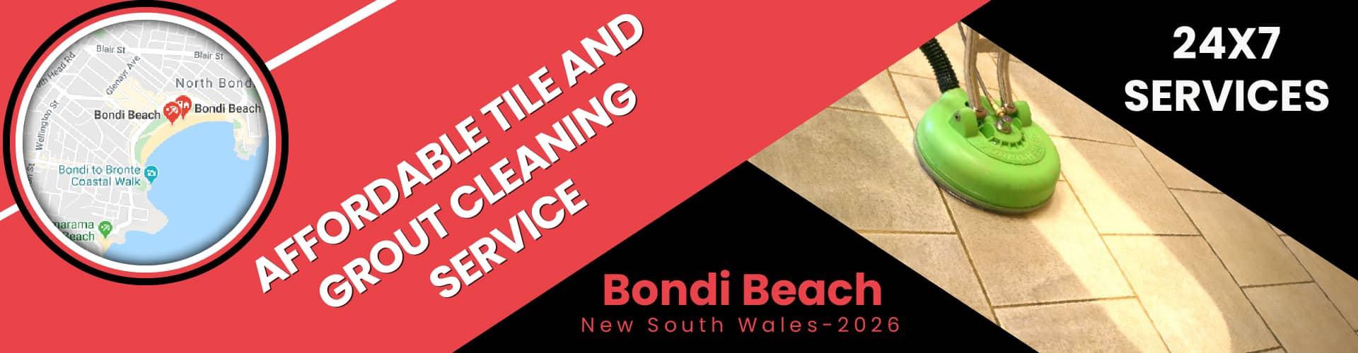 Tile and Grout Cleaning Bondi Beach