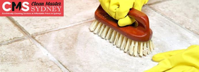 Tile and Grout Cleaning with Vinegar