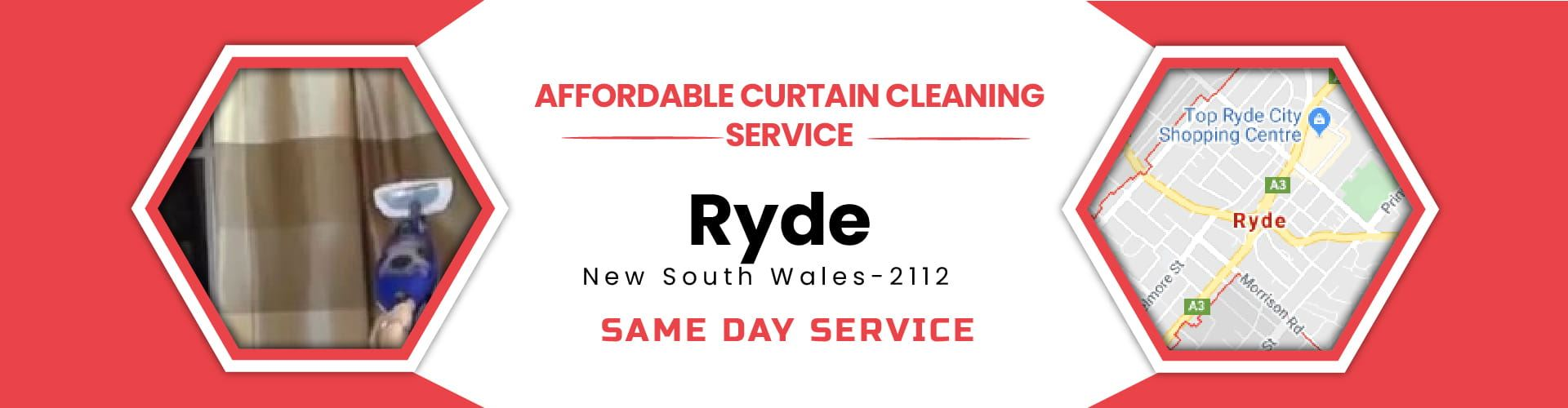 Curtain Cleaning Ryde