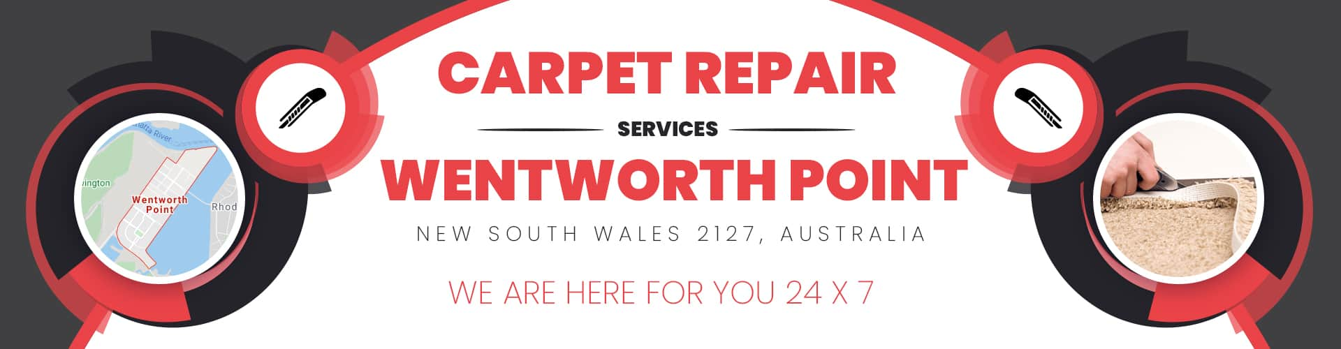 Carpet Repair Wentworth Point