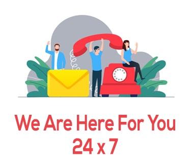 24 x 7 Services