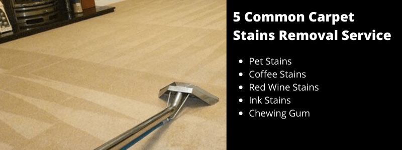 Carpet Stains Removal Services