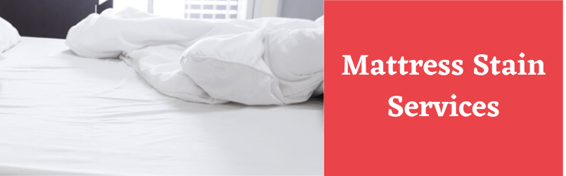 Mattress Stain Removing Services