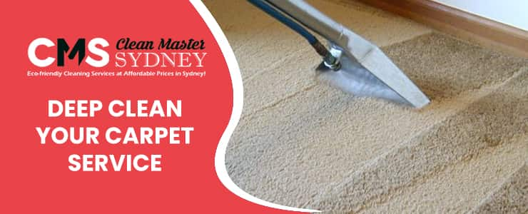 Deep Clean your Carpet Service