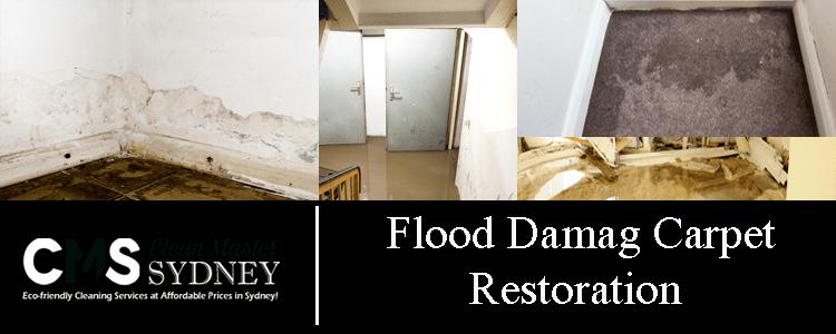 Flood Damaged Carpets Restoration
