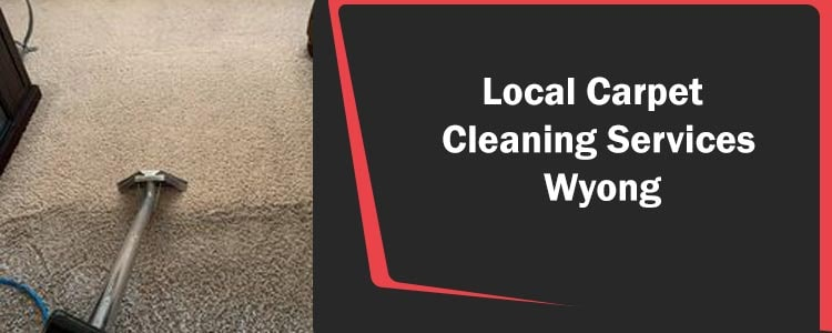 Local Carpet Cleaning Services Wyong